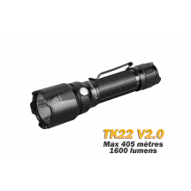 Fenix TK22 V2.0 - 1600 lumens - Lampe tactique avec stroboscope