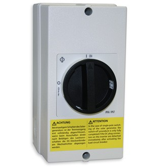 Interrupteur DC pour StecaGrid 2000+ à 4 pôles