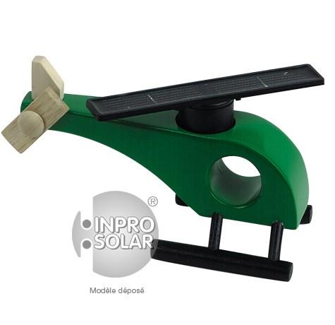 Hélicoptère solaire (rotor droit) vert