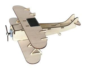 Maquette d'avion solaire en bois