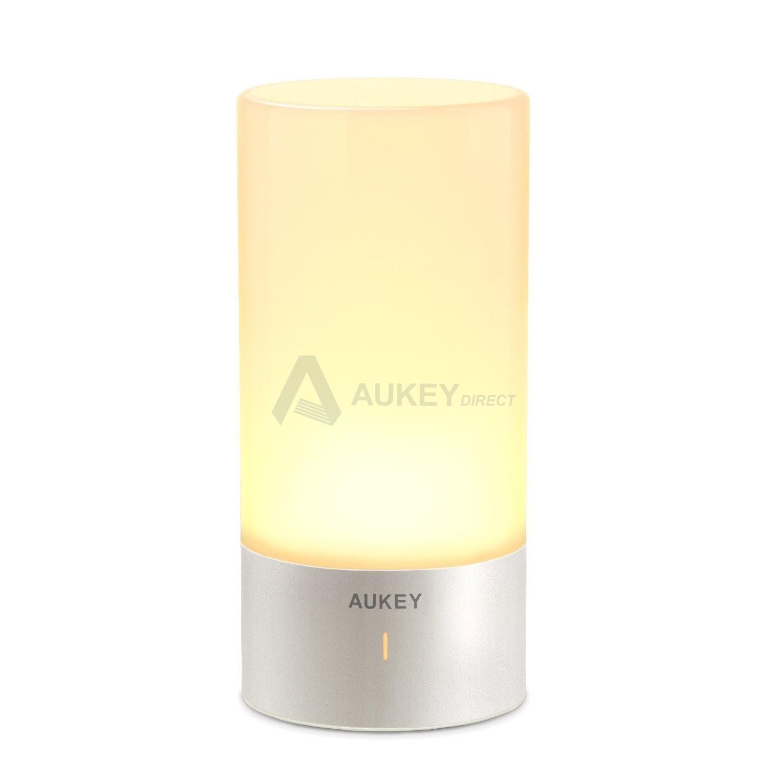 Aukey Lt T6 Lampe De Chevet Led Avec Controle Tactile A 360