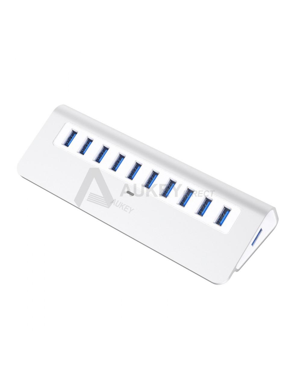 AUKEY CB-H6 Hub USB 3.0 avec 10 Ports