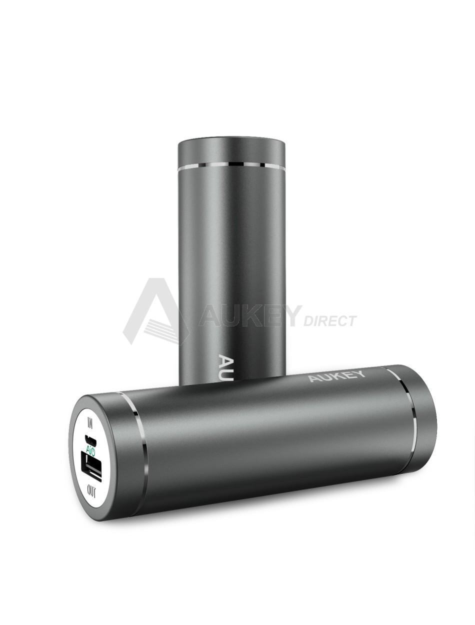 AUKEY PB-N37 Mini Power Bank 5000mAh (Gris)