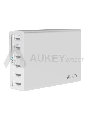 AUKEY PA-U14 chargeur mural AiPower (Blanc)