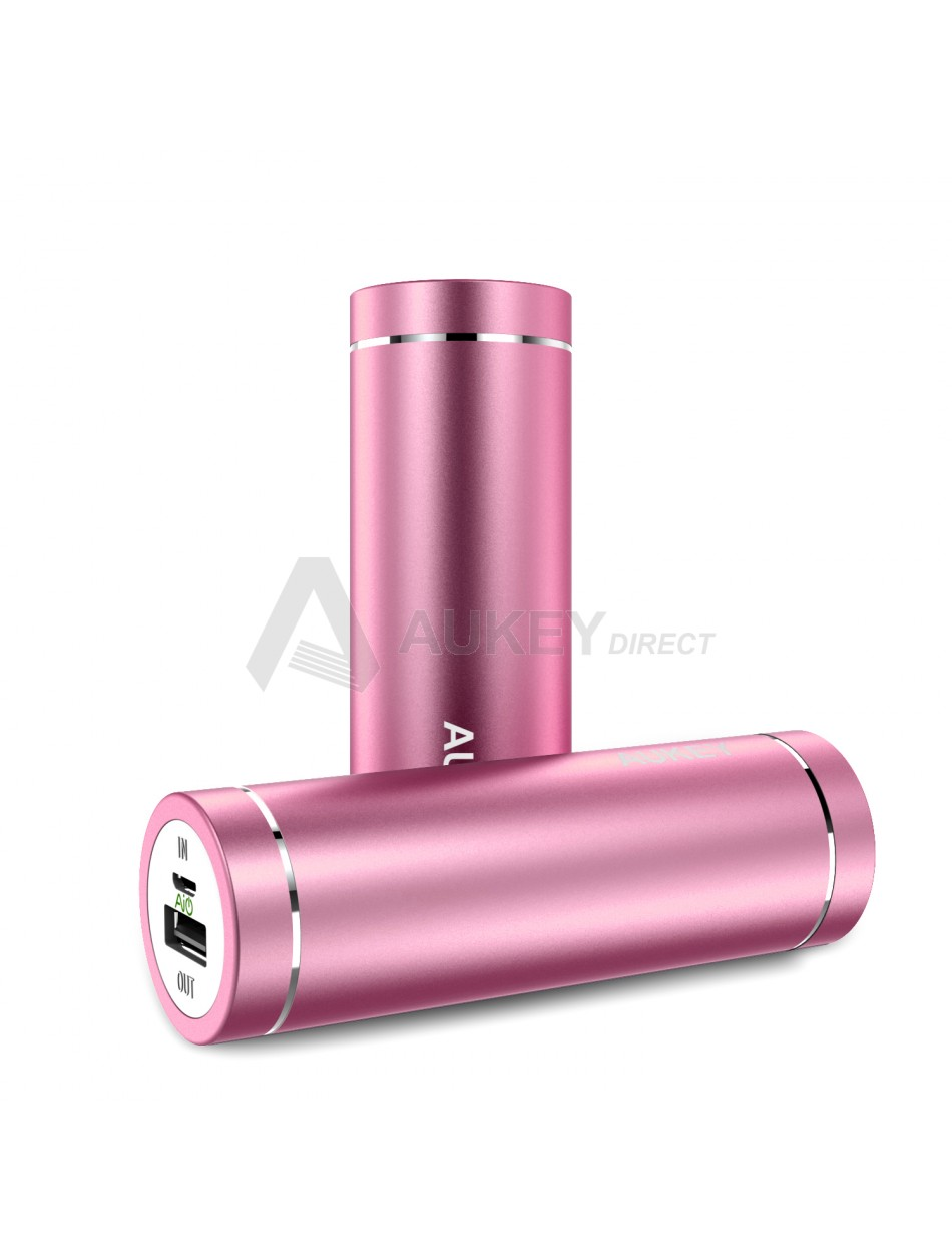 AUKEY PB-N37 Mini Power Bank 5000mAh (Rose)