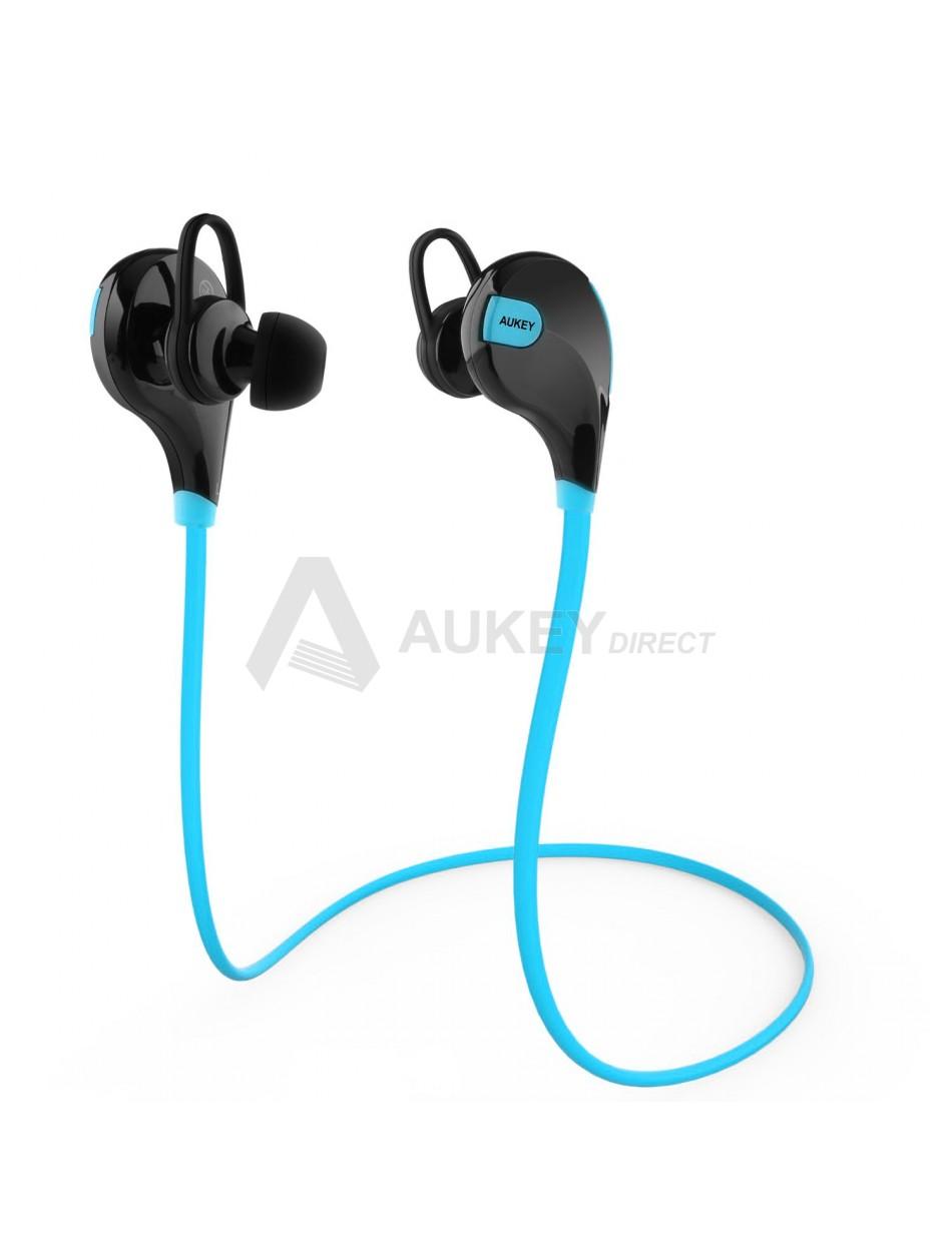 AUKEY EP-B4 Écouteurs sans fils Bluetooth 4.1 (Bleu)