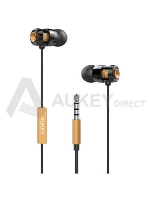 AUKEY EP-C2 Écouteur filaire intra Auriculaire (Bronzé)