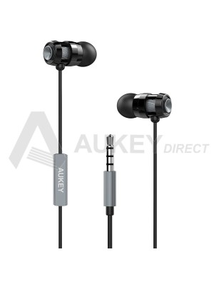 AUKEY EP-C2 Écouteur filaire intra Auriculaire (Gris)