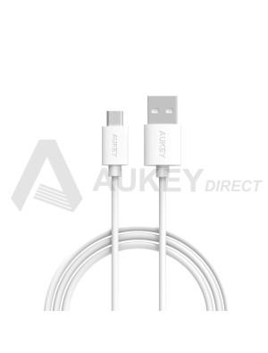 AUKEY CB-D9 câble Micro USB 2.0 (Blanc)