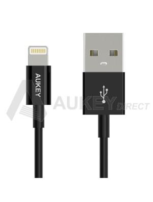 AUKEY CB-D8 câble lumineux USB (Noir)