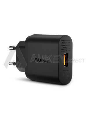 AUKEY PA-U28 chargeur mural Quick Charge 2.0 (Noir)