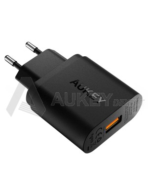 AUKEY PA-T9 chargeur mural Quick Charge 3.0 (Noir)