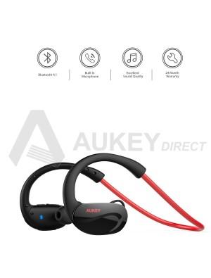 AUKEY EP-B34 Écouteurs sans fil Bluetooth 4.1 (Rouge)
